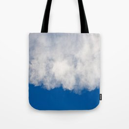 Cotton candy in blue Tote Bag