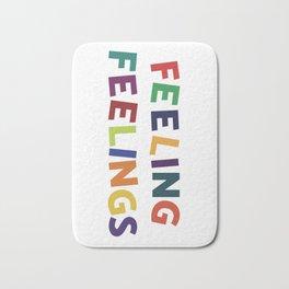 Feeling Feelings Bath Mat