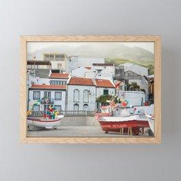 Vila Franca do Campo Framed Mini Art Print