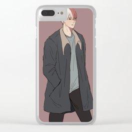 Boku no Hero Academia - Todoroki Shouto 1 Clear iPhone Case