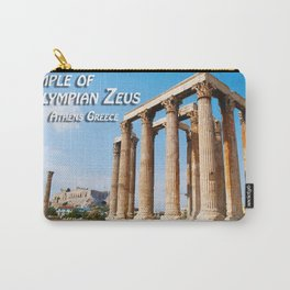 Temple of Olympian Zeus - Athens Greece Carry-All Pouch