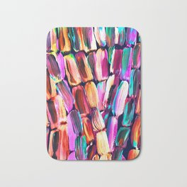 Neon Sugarcane Dark Bath Mat