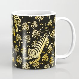 Tiger jungle animal pattern Coffee Mug