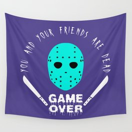 Game Over Wall Tapestry
