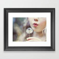 Wish Bomb Framed Art Print