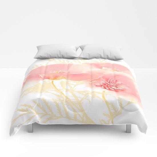 Poppies(gentle) Comforters