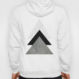 Arrows Monochrome Collage Hoody