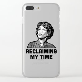 reclaming my time Clear iPhone Case