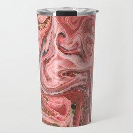 Rose Paper Marble 2 Travel Mug