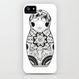 Bloody Mary Matrioska iPhone Case