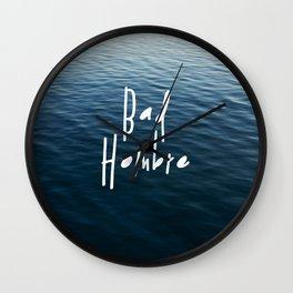 Happy Bad Hombre Wall Clock