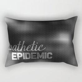 Apathetic Epidemic Rectangular Pillow