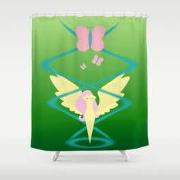 Magic Circle: Fluttershy Shower Curtain