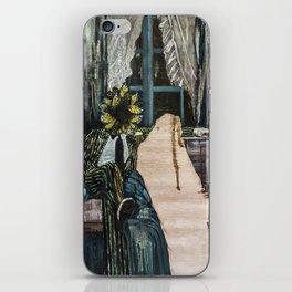 The King of Swords (Reversed) iPhone Skin