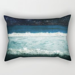 The Sound and the Silence Rectangular Pillow