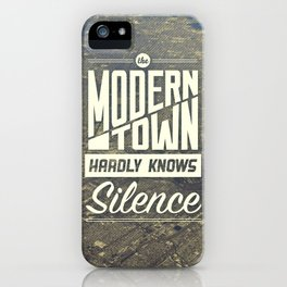 The Modern Town iPhone Case