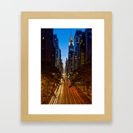 42nd Street Framed Art Print