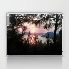 Solemn Sunset  Laptop & iPad Skin
