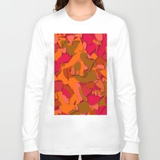 red camouflage Long Sleeve T-shirt
