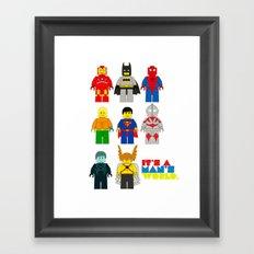It's a man;s world Framed Art Print