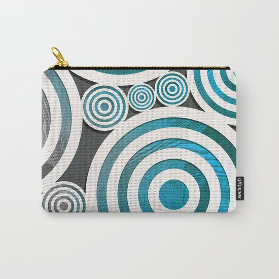 Drop Close/Blue Carry-All Pouch