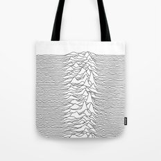 Unknown Pleasures - White Tote Bag