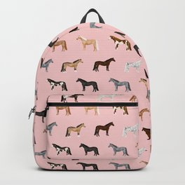 horses farm animal pet gifts Backpack
