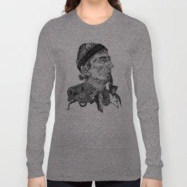 Jacques Cousteau Long Sleeve T-shirt