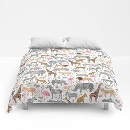 Safari Animals Comforters