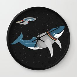 Whalesley Crusher Wall Clock