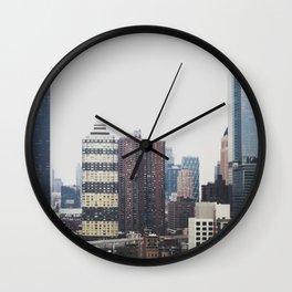 Midtown Manhattan Wall Clock