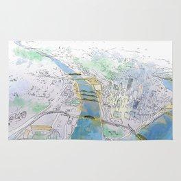 Pittsburgh Aerial Rug