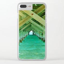 Sun Under the Bridge Clear iPhone Case