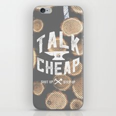 Talk is Cheap iPhone & iPod Skin