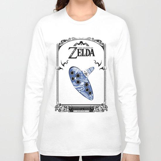 Zelda legend - Ocarina of time Long Sleeve T-shirt