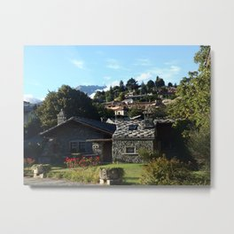 Aosta Valley I Metal Print