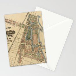 Chicago World Exposition 1893 Stationery Cards