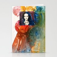 lucy Stationery Cards featuring Lucy by Ecsentrik