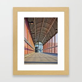 The Walk Way Framed Art Print