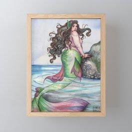 Delicate Mermaid Framed Mini Art Print