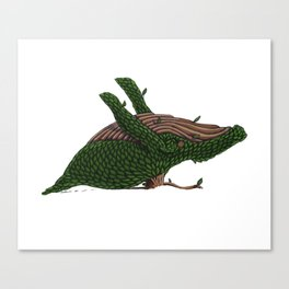 Topiary Whale 2019 Canvas Print