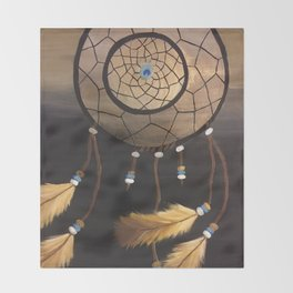 Dream Catcher Throw Blanket