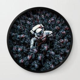 Planet of Terror Wall Clock