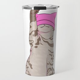 Pussy Power Travel Mug