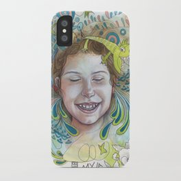 Giggle iPhone Case