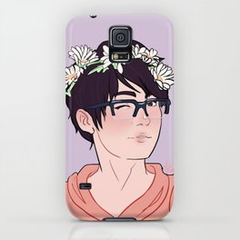 YOI Flower Boys - Yuuri iPhone Case