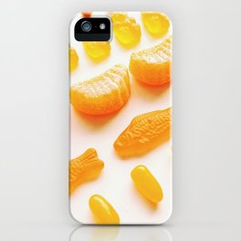 All About Orange iPhone Case