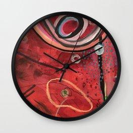 Rising head Wall Clock