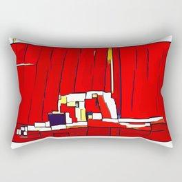 Nexus 8 Cubism Rectangular Pillow