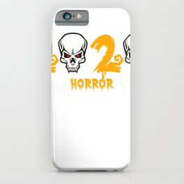 Halloween 2020 True Horror Story-Funny Quarantine Gift T-Shirt iPhone Case
